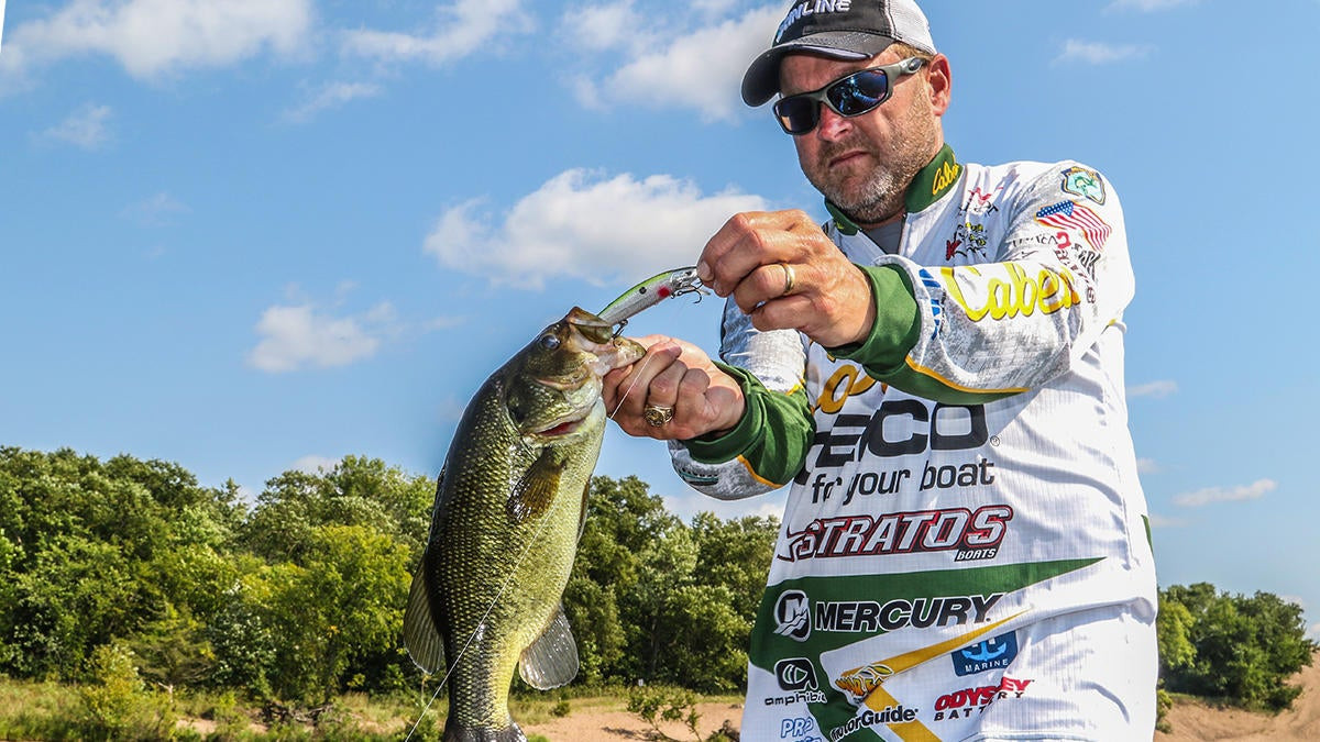 How to Bass Fish the Edges of Thick Cover