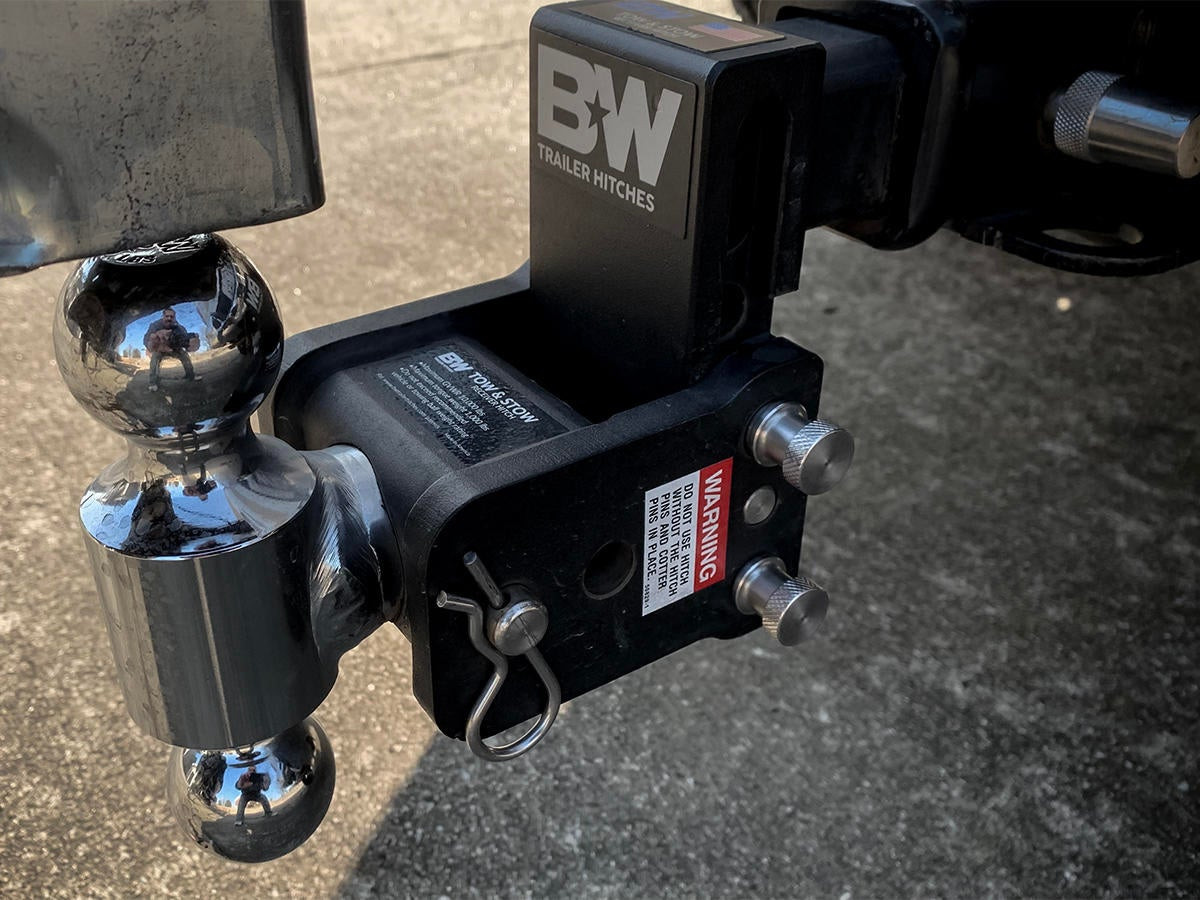 B&W Hitches Tow & Stow Adjustable Ball Mount Hitch Review