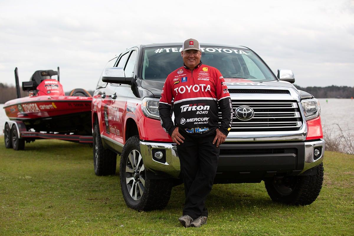 Scroggins Celebrates 15 Years with Toyota
