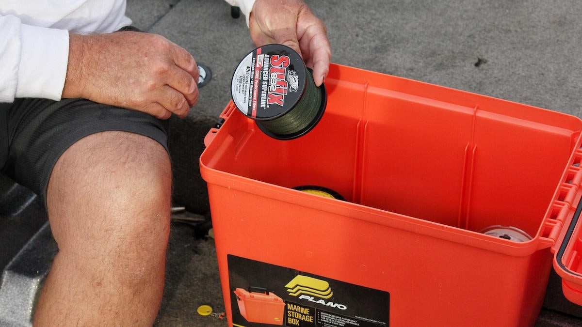 How to (Reasonably) Store Fishing Line
