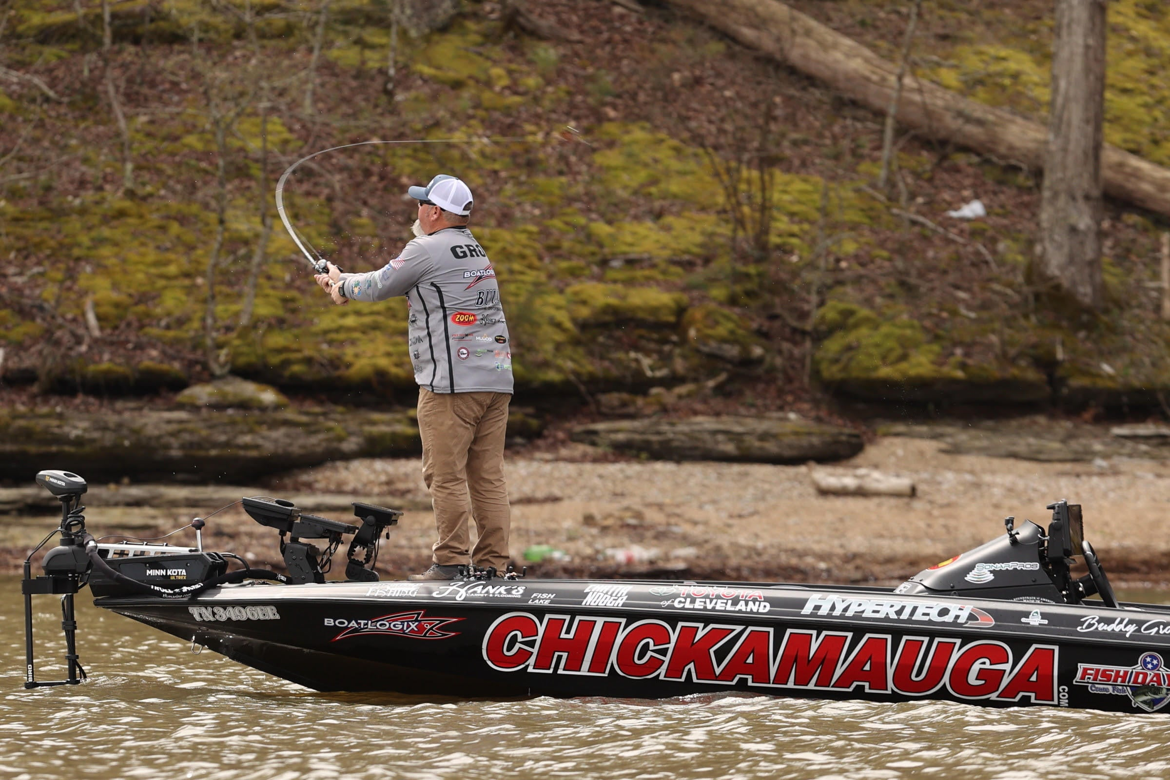 Gross Injures Ankle before Bassmaster Classic