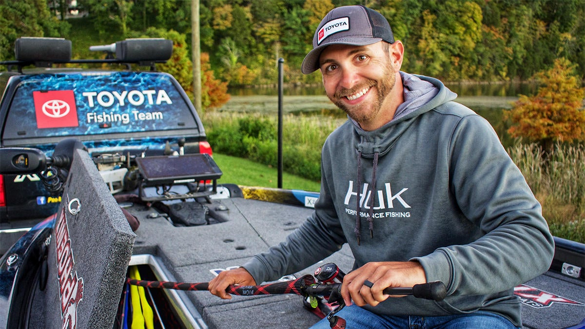 Lester: Eliminating Water is Important in Bass Fishing