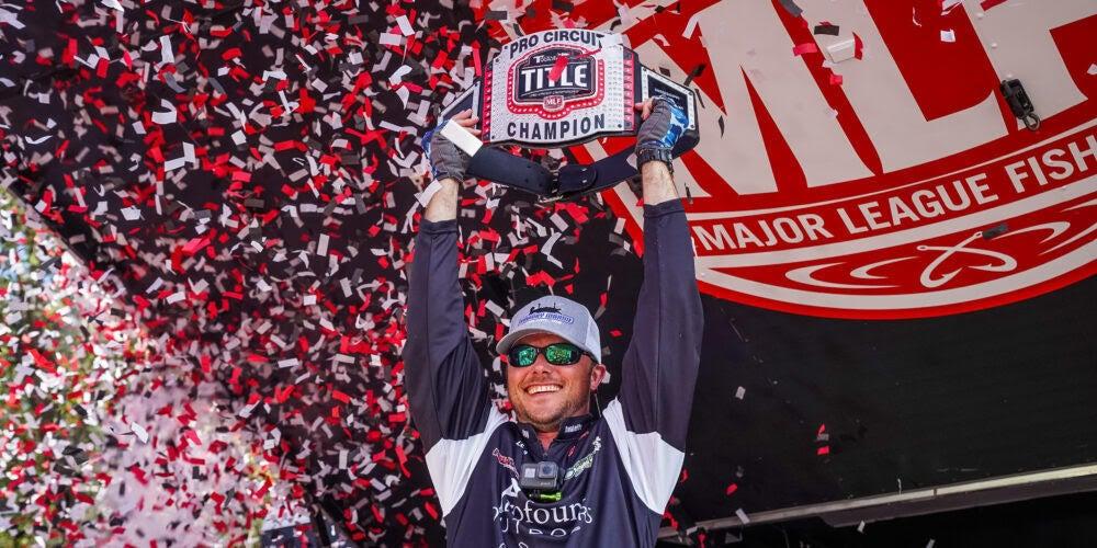 Washam Wins MLF Tackle Warehouse Pro Circuit TITLE