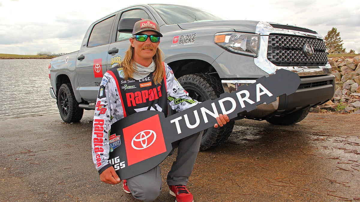 Feider Wins Toyota Tundra with Lake Fork 9-pounder