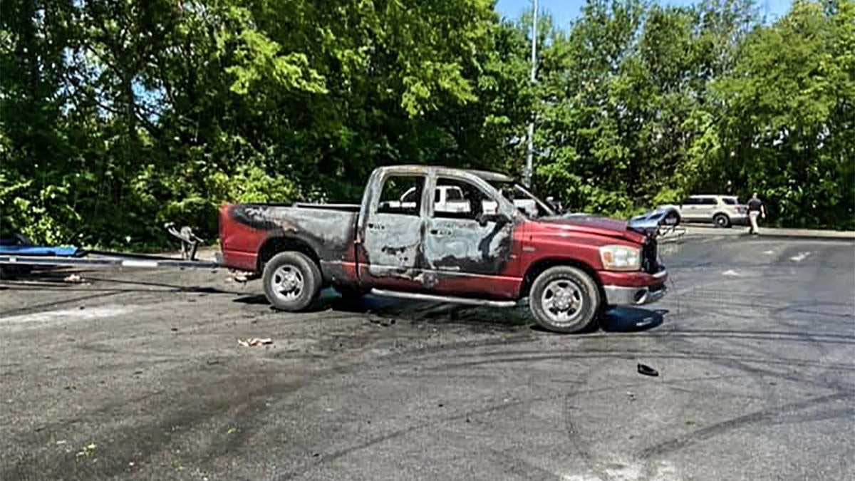 Bass Anglers' Trucks Set on Fire at Boat Ramp