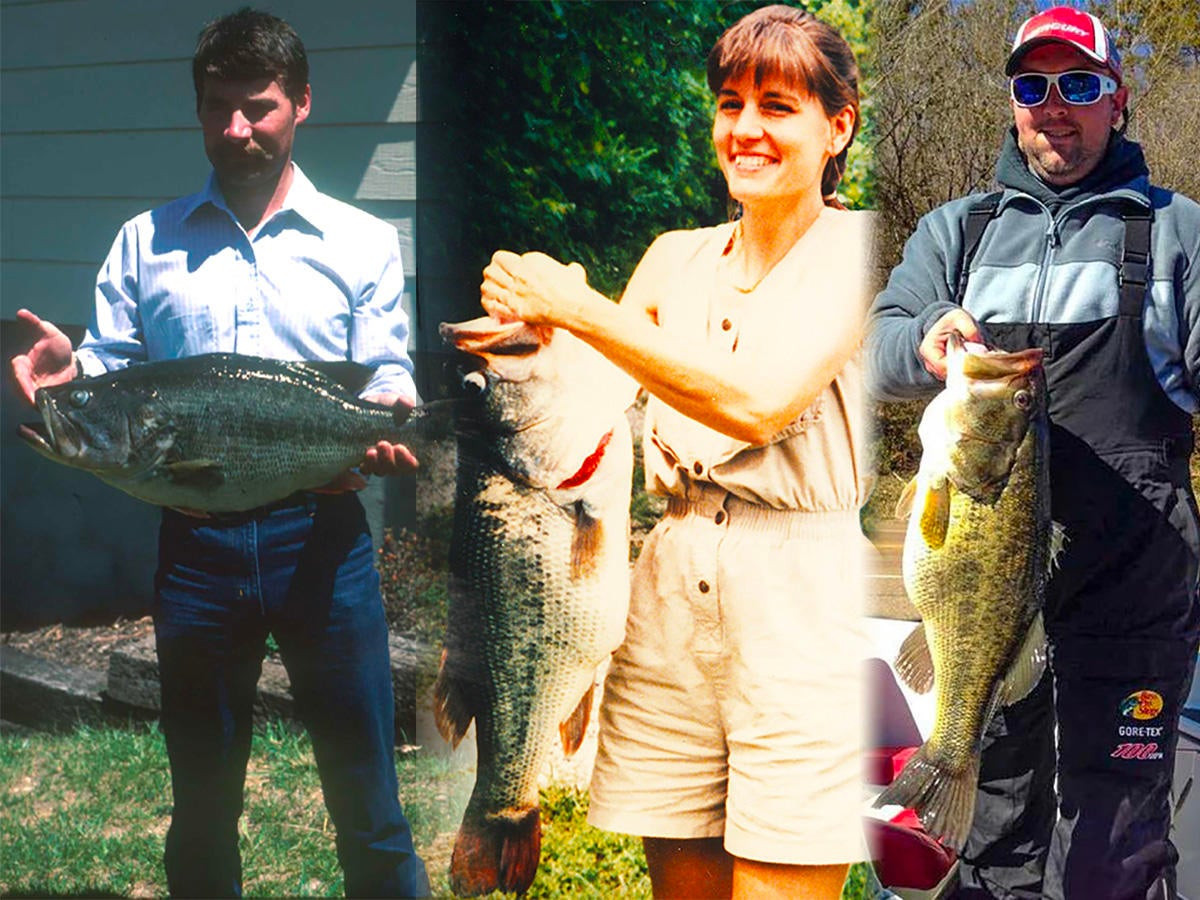 34 of the Biggest State Record Largemouth Bass