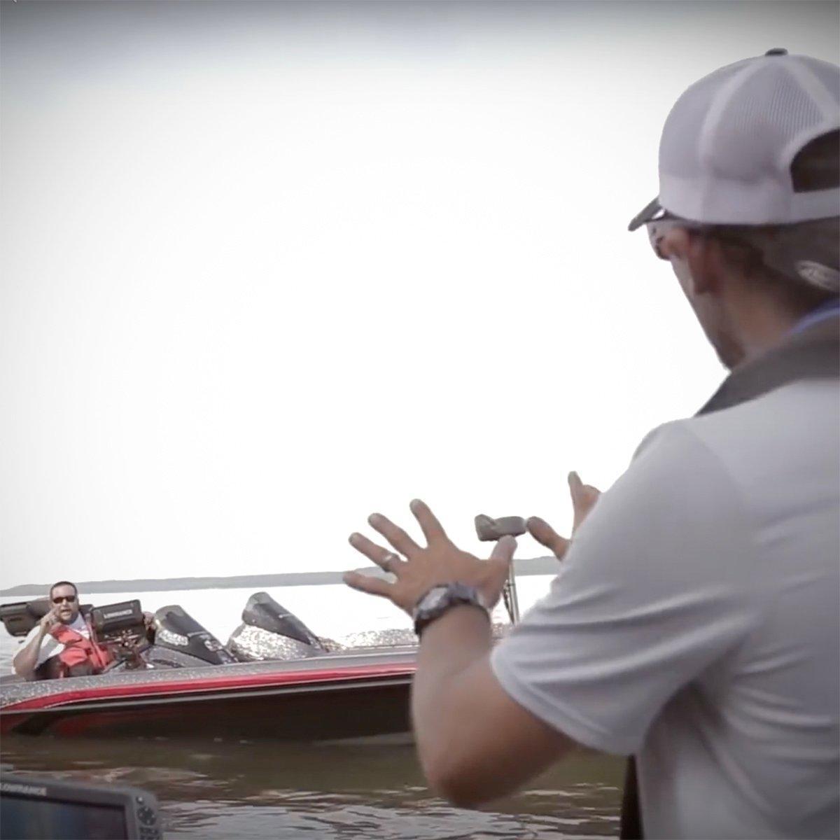 Ike Shares Argument over Fishing Etiquette