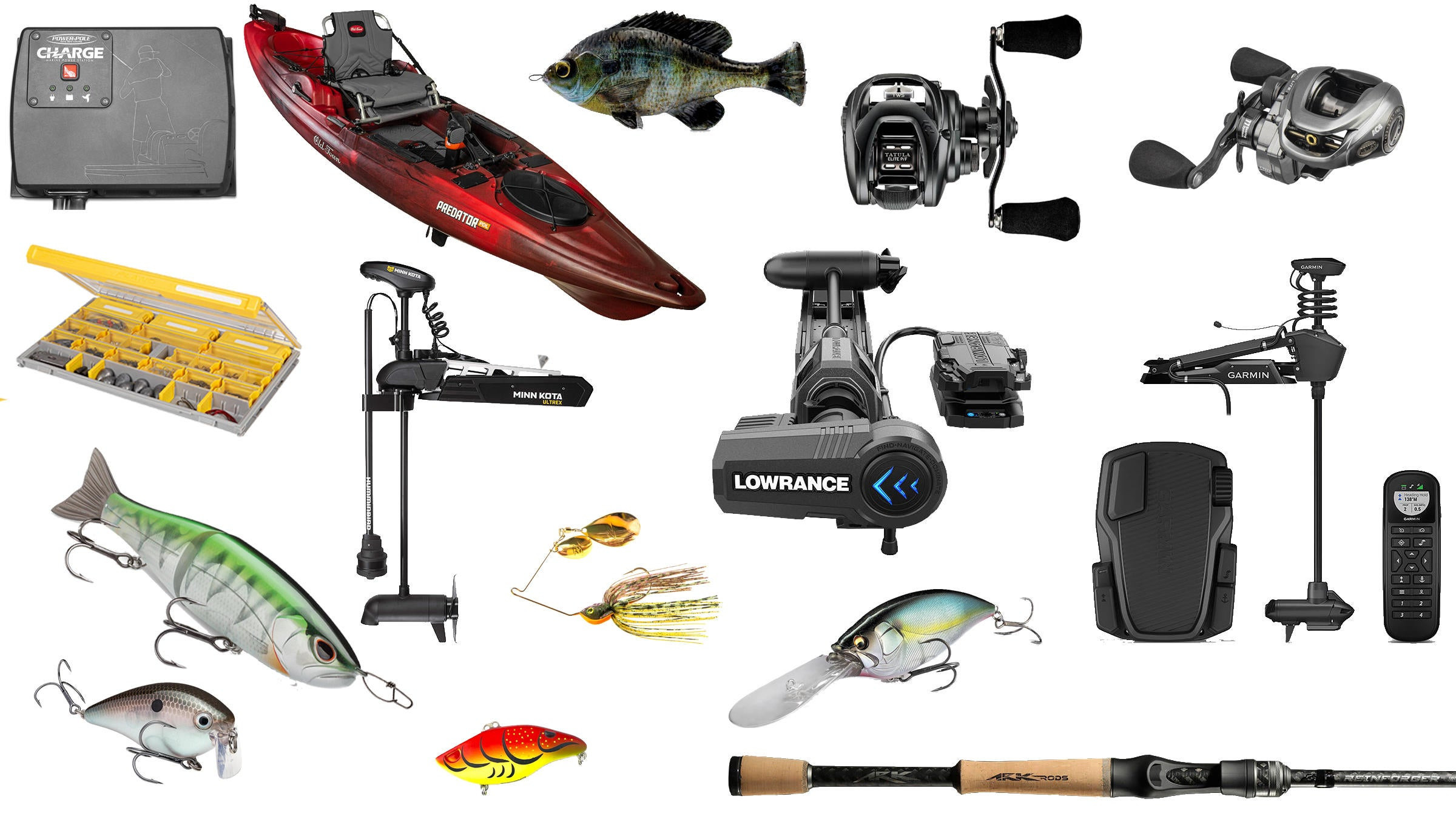 New Fishing Tackle for 2020