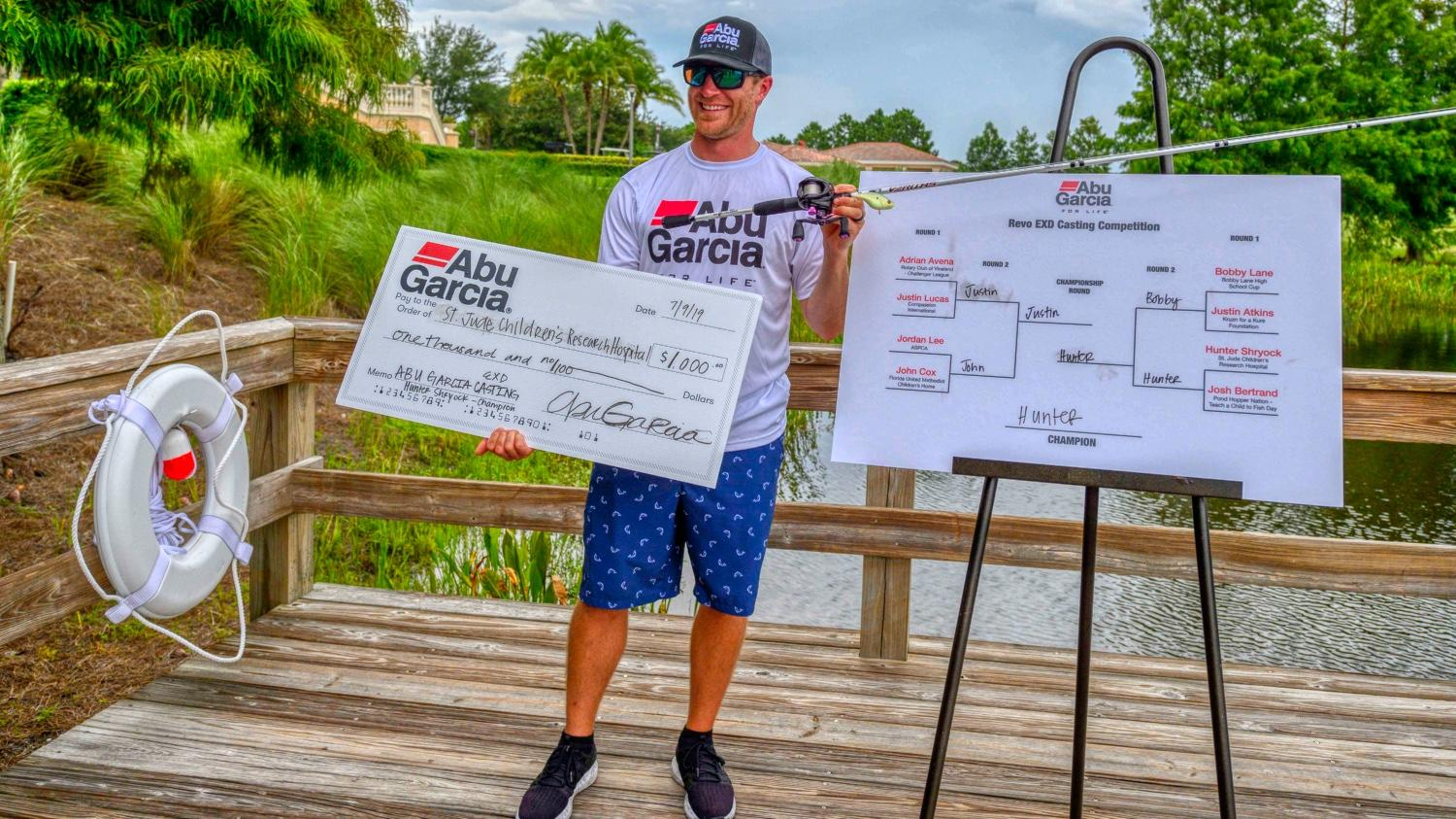 Shryock Wins Casting Competition with New EXD