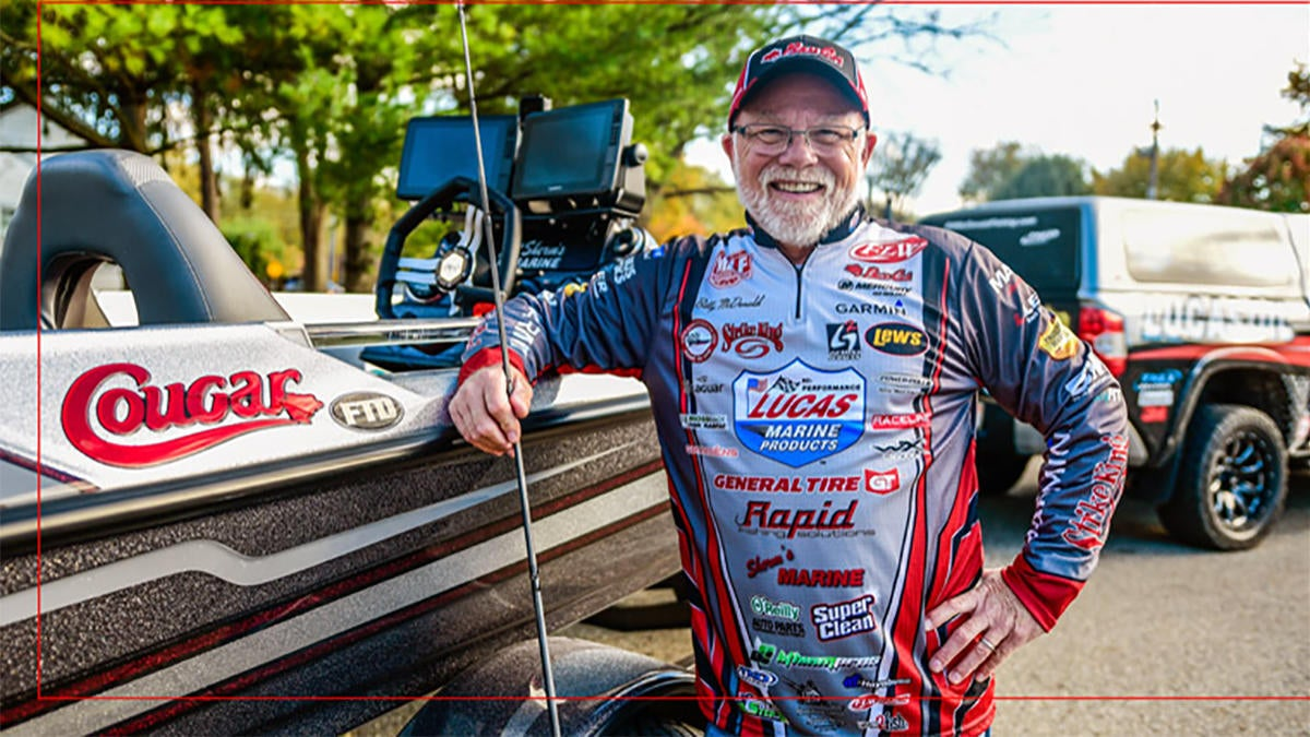 McDonald Signs with Bass Cat Boats