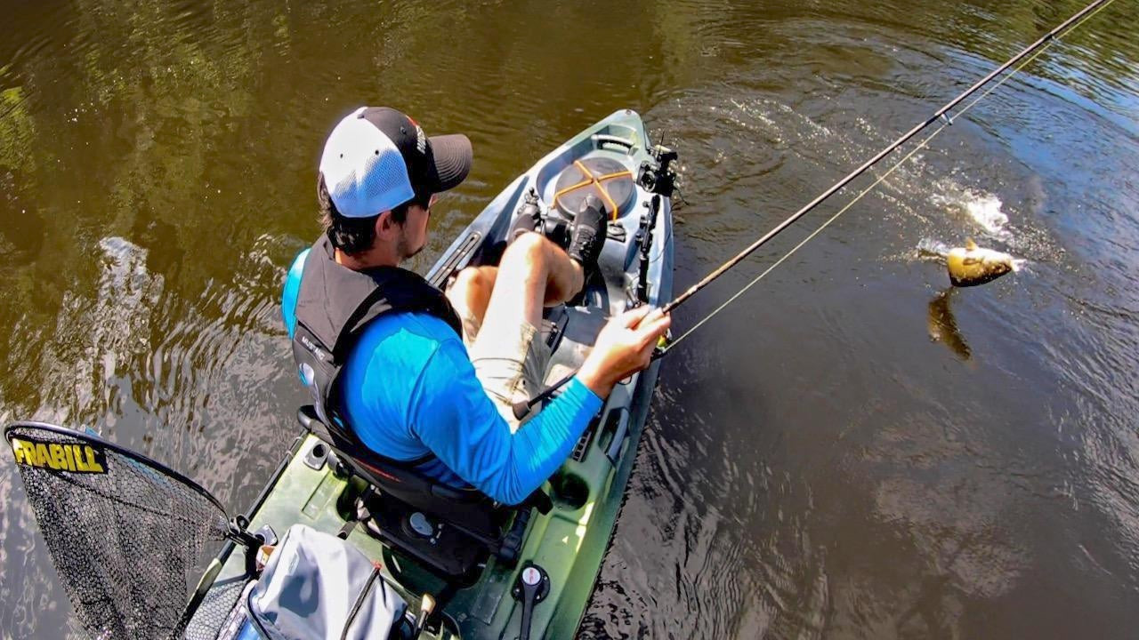 4 Tips for Bass Fishing Rivers with Flukes