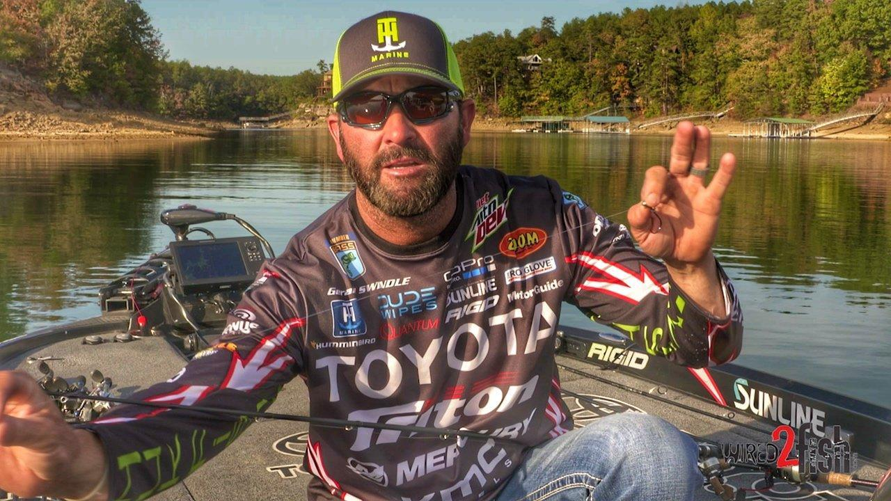 Swindle's Favorite Fluorocarbon-to-Jig Knot