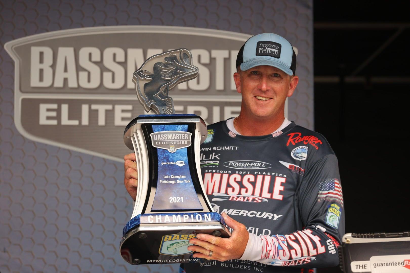 Schmitt Wins 2021 Elite Series Event on Lake Champlain