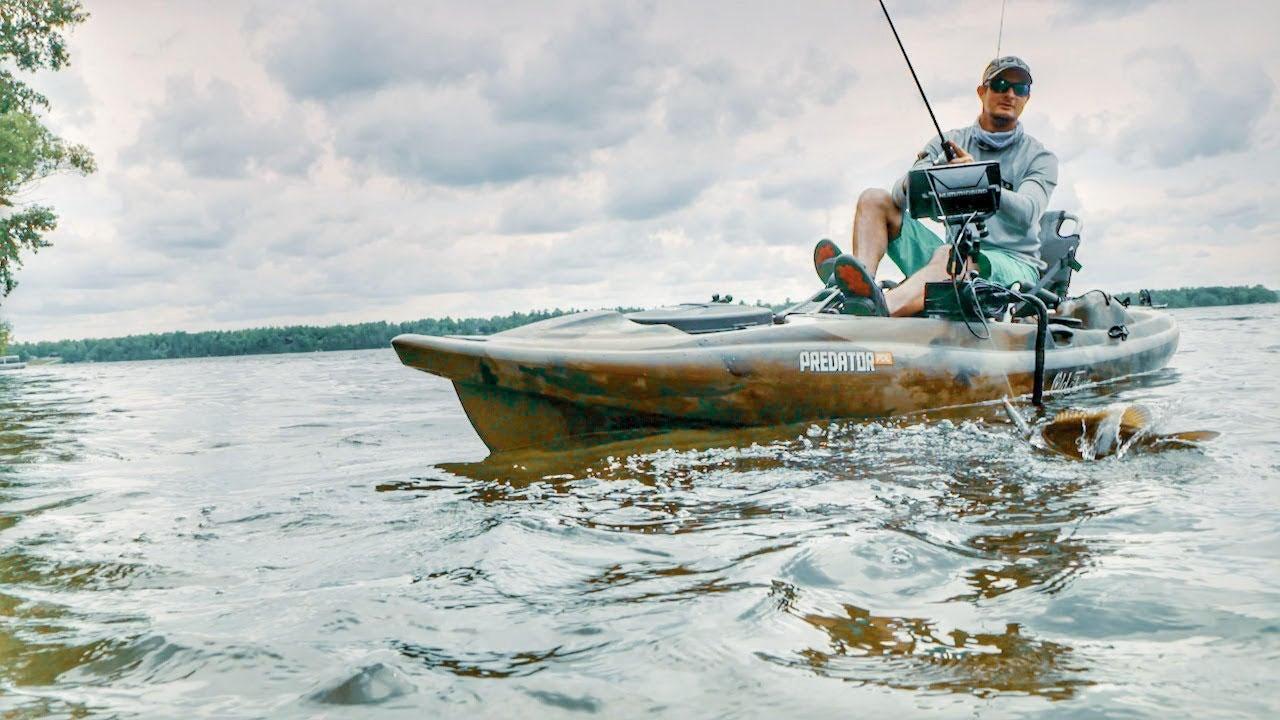 Jerkbait Fishing Smallmouth Bass from a Kayak