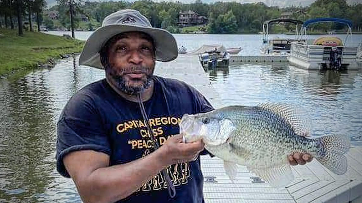 Angler Sets State Record with Giant Crappie