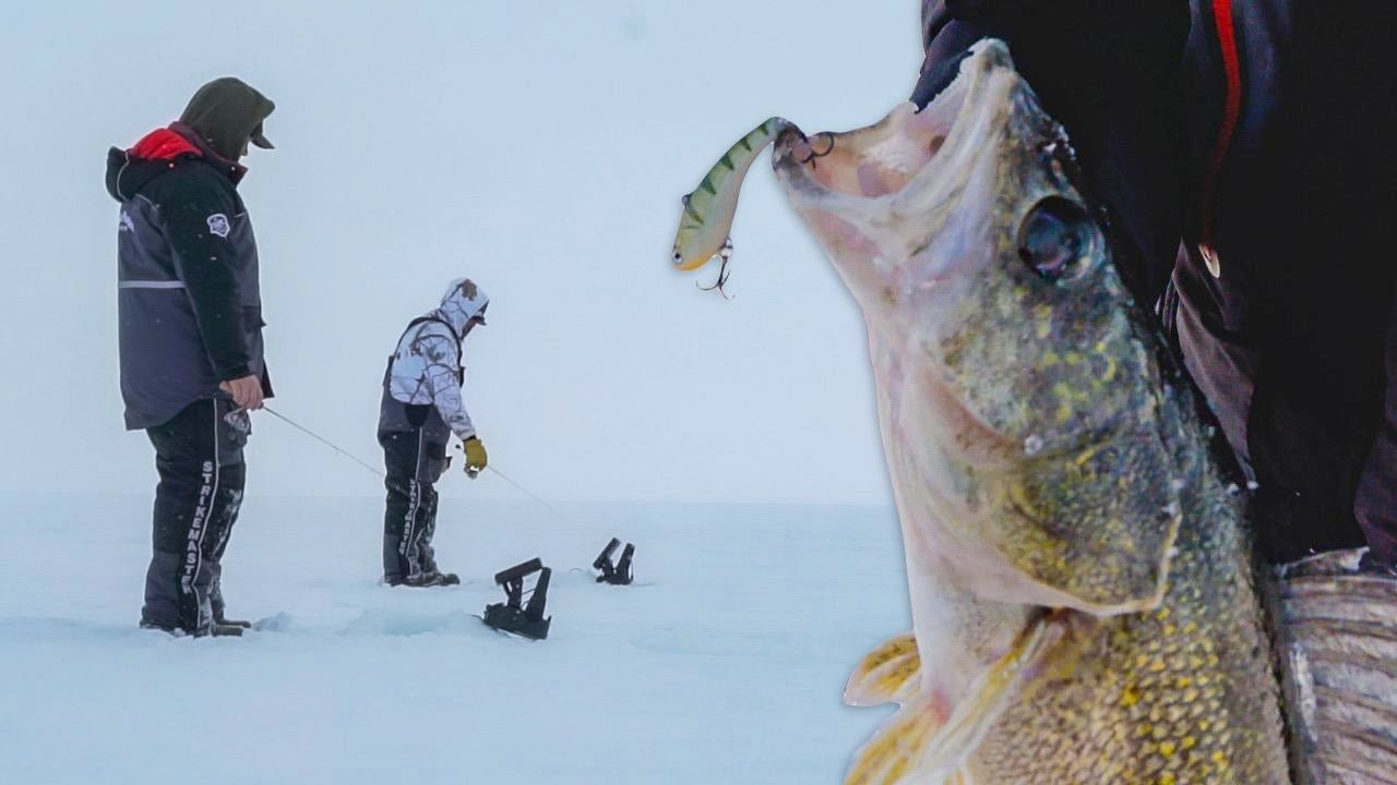 4 Lipless Crankbait Tips for Ice Fishing Walleyes