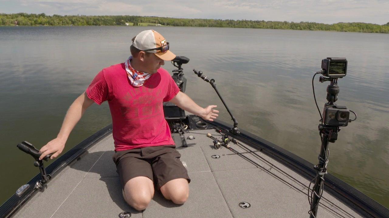 How We Mount POV Cameras for Filming Fishing Videos