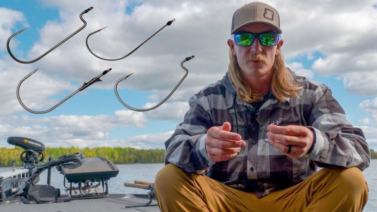 Seth Feider's 4 Hooks for Bass Fishing Soft Plastics