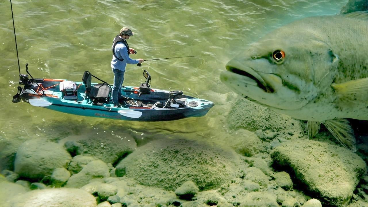 Kayak Bass Fishing Untapped Lakes – Jerkbait Blitz!