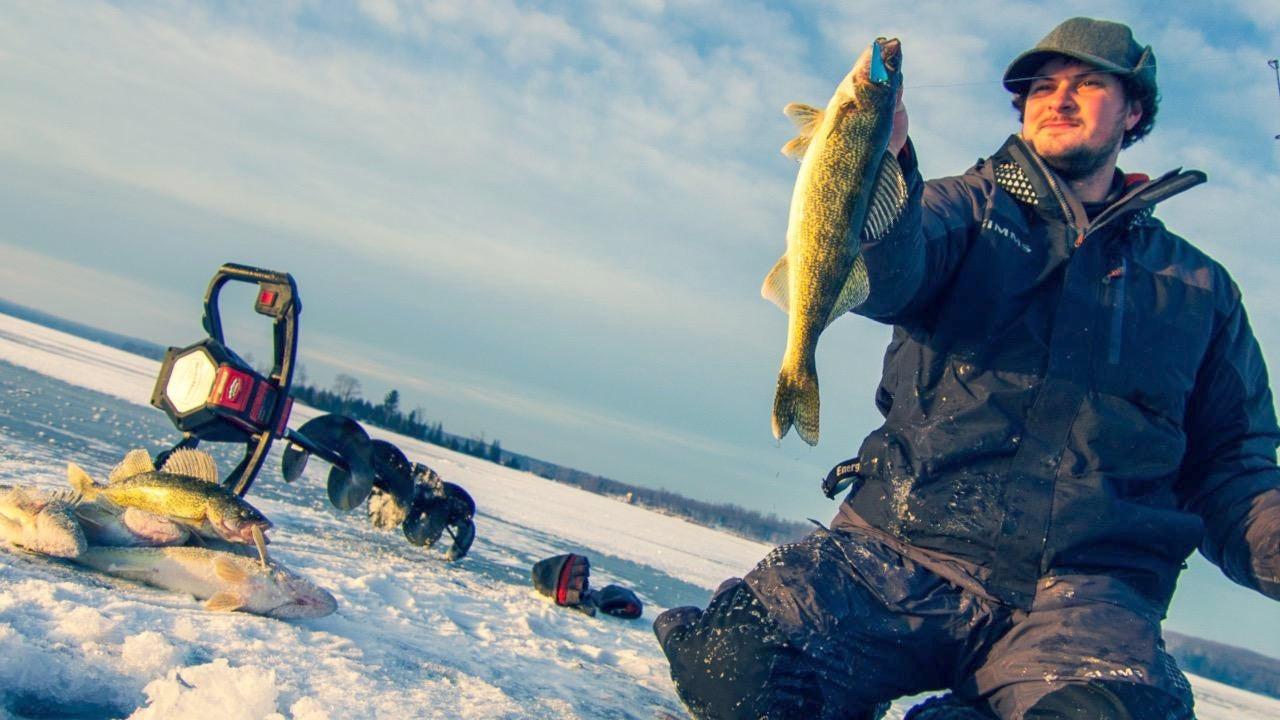 Ice Fishing Early Winter Walleyes: Jigging Spoon Tips
