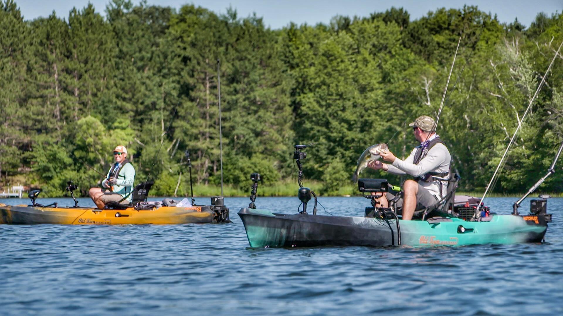 Kayak Bass Fishing New Lakes | BIG Bass Slugfest