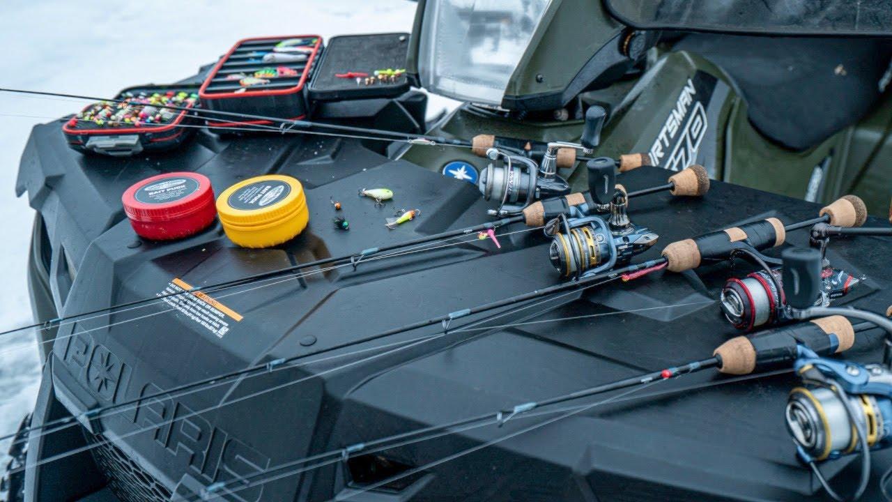 4 Best Rod Setups for Ice Fishing Panfish