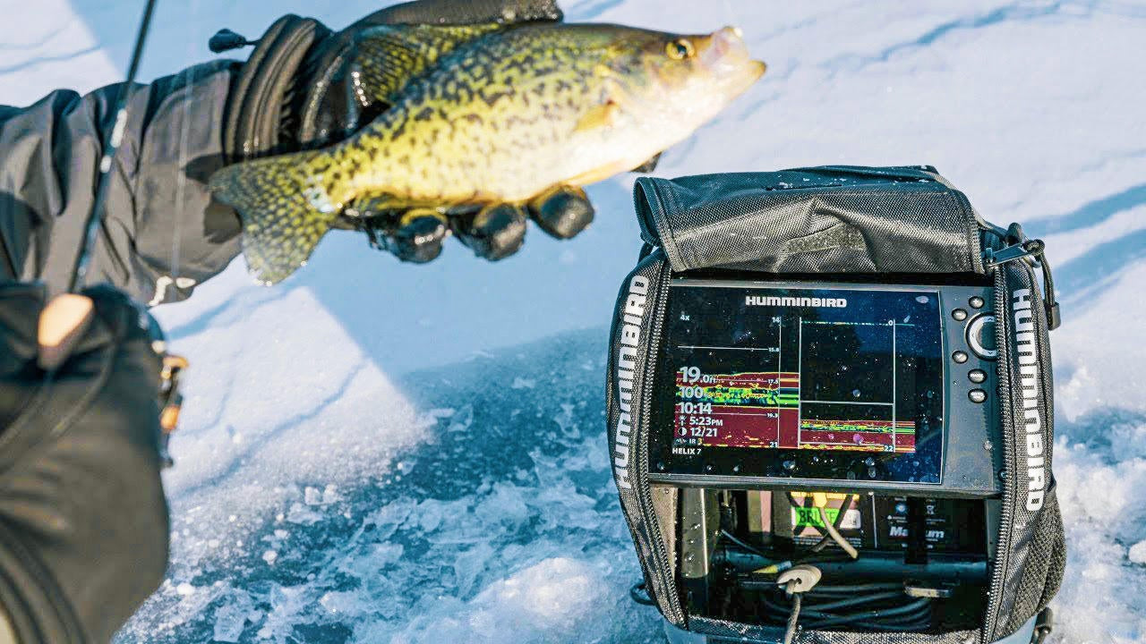 Why CHIRP is the Best 2D Sonar for Ice Fishing