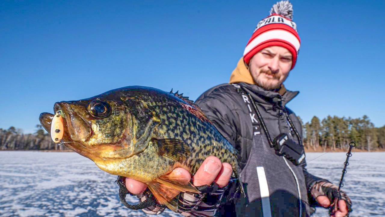 2-Pronged Approach to Catch Early Ice Panfish
