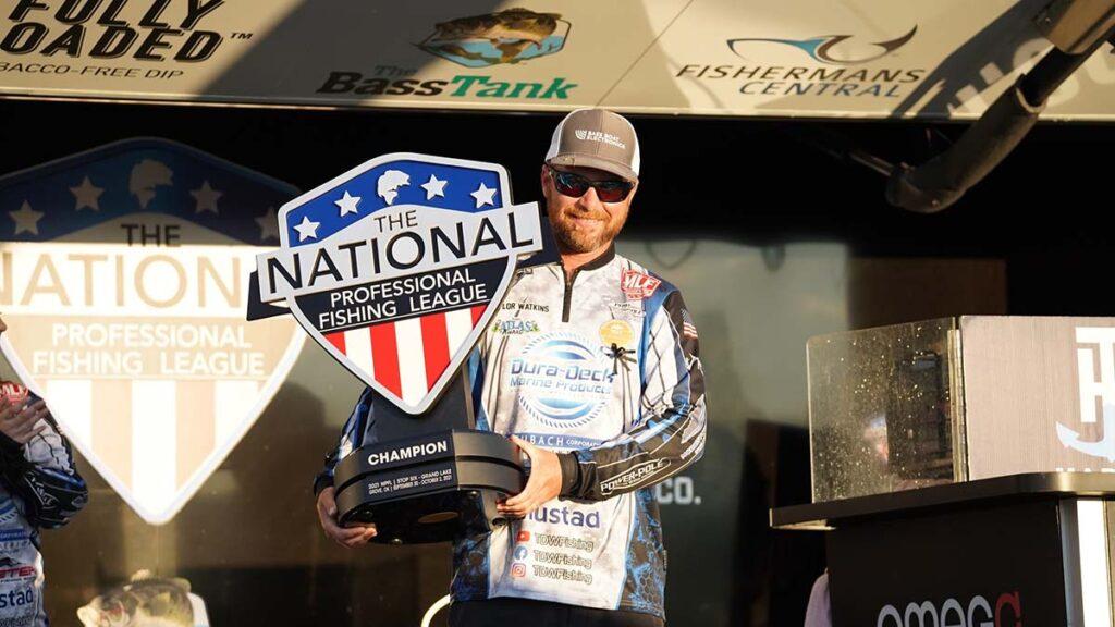 Watkins wins NPFL on Grand