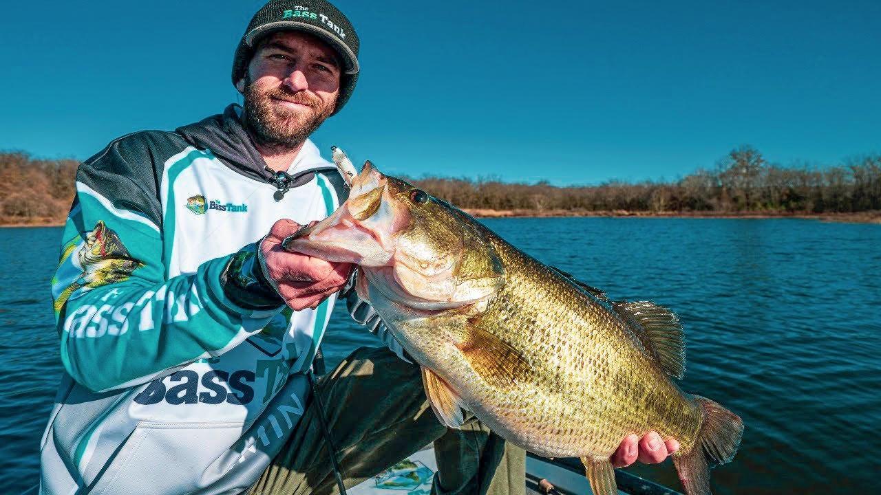 Jerkbait Fishing Winter Bass | 4 Tips to Dial-in the Bite