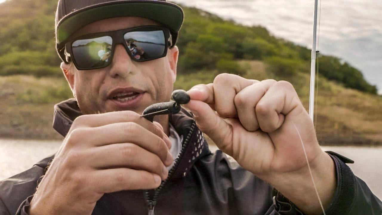 Why You Should Fish Big Worms on Swinging Jigs