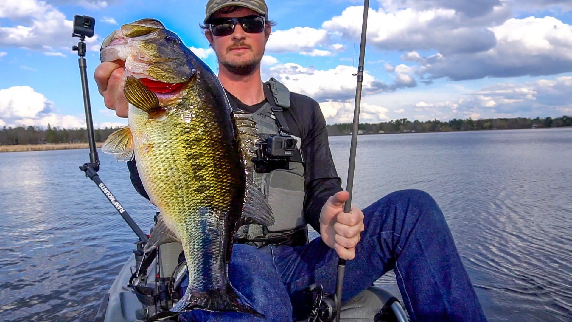 How to Bass Fish with Weightless Tubes | Deadly Spring Trick‼️