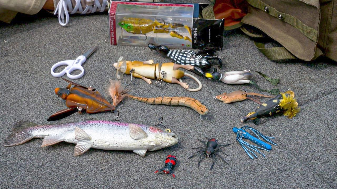 12 Weird Fishing Lures and When They Work | Underwater Footage